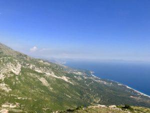 Ausblick vom Llogara Pass