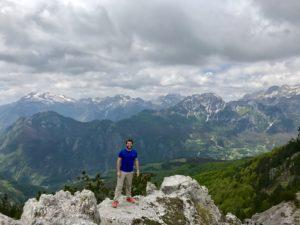 Saimir auf dem Berg