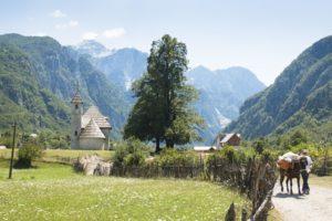 Theth Dorf